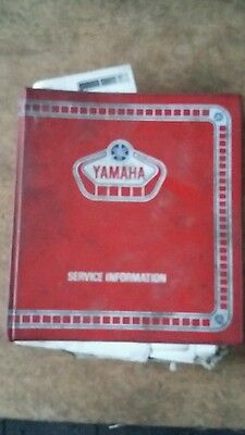 Genuine Yamaha Workshop Service Information Manual 1980's, Rd Xs Xt