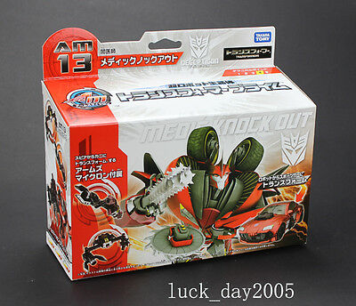 Takara Tomy TRANSFORMERS PRIME ARMS MICRON AM-13 Medic Knock Out Figure