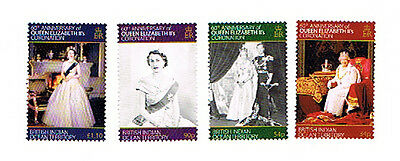 British Indian Ocean Territory 2013 60th Anniversary of Queens Accession MNH