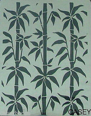 Dreamweaver Stainless Steel Embossing Stencil - Large Bamboo - NEW