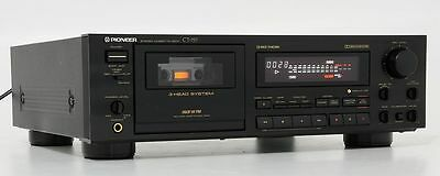 Pioneer Ct-757 Vintage Stereo Cassette Deck Player