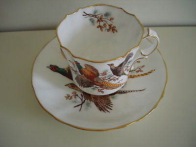 Hammersley Bone China Cup And Saucer ( Pheasant Pattern )