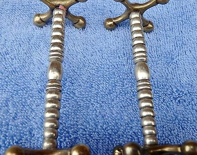 2 Vintage Stylish Cutlery Knife Rests Party Wedding Dining