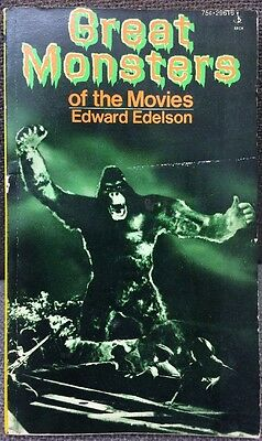 Great Monsters of the Movies Edward Edelson Movie tie-in 1974 King Kong