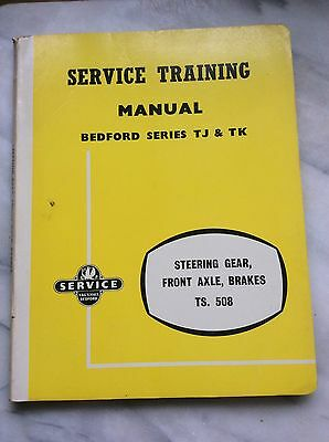 Bedford Service Manual series TJ-TK With Supplement