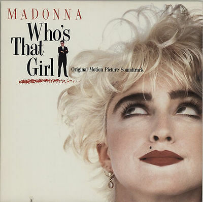 Madonna - 'Who's That Girl' soundtrack Sire LP. EXC / EXC
