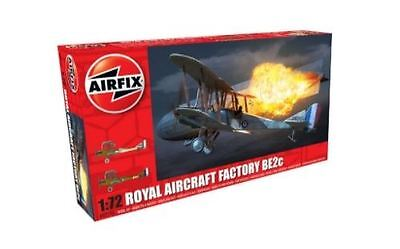 Airfix Plastic Model Kit - Royal Aircraft Factory BE2c Plane - 1:72 - A02101