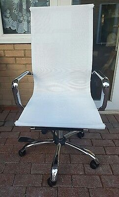 Executive Office Computer Desk Chair Seat Fabric