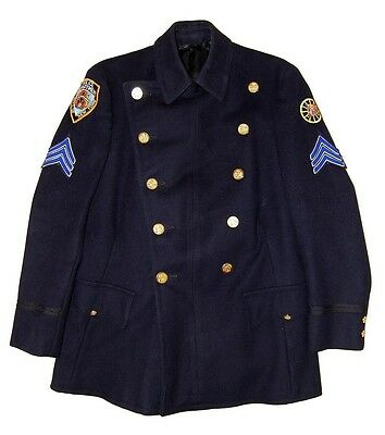 Mantel Reiterstaffel New York Police - Wool Coat NYPD Mounted Unit - Jacket