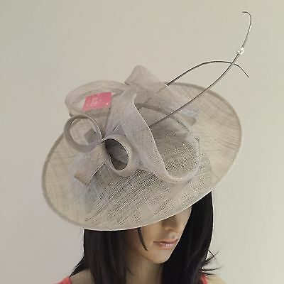 Silver Grey Wedding Hatinator Occasion Mother Of The Bride Sale
