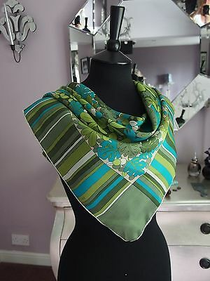 Vintage 1960s Scarf hand stitched
