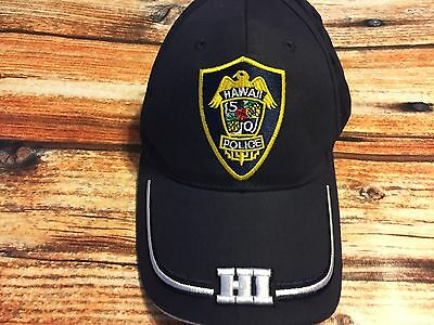 Hawaii Five-0 Five-O 5-0 Hat Police Ball Cap Magnum PI Navy Embroidered
