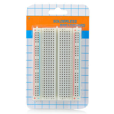 Solderless Breadboard Bread board with 400 Tie-Point Self-adhesive Tape On Back