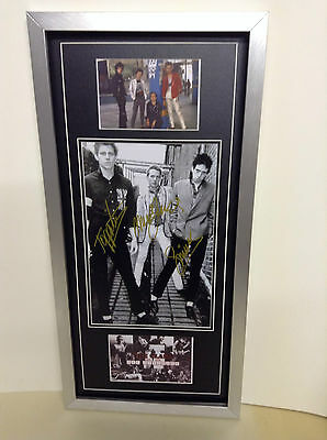 The Clash Genuine Hand Signed/Autographed Photograph with COA