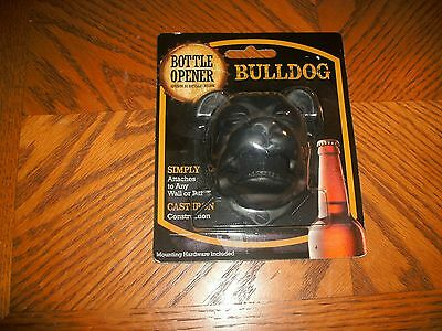 Cast Iron Bull Dogbottle Opener Wallmount  3 X 3