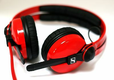 Sennheiser HD25-II Flame Red, Unique DJ headphones 506909, Red HD25's