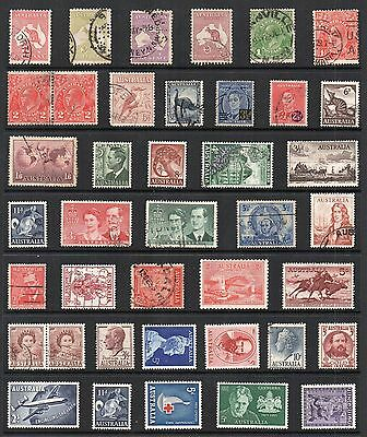 AUSTRALIA Stamp Collection MINT USED Ref:QE229