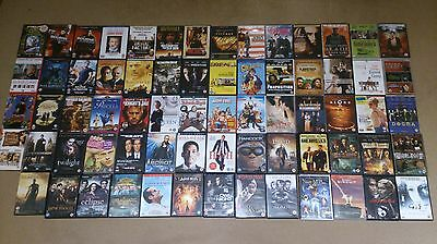 Job lot DVD's Horror Comedy Thriller Family Fantasy