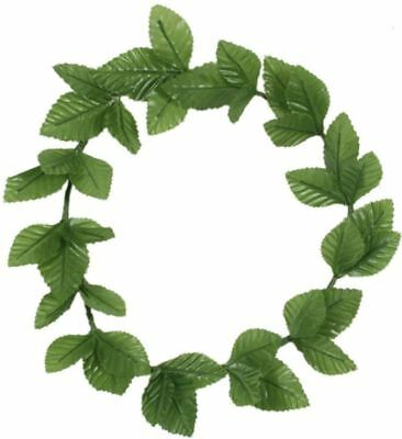 Roman Green Leaf Laurel Wreath Headband Julius Caesar Goddess Party Fancy Dress