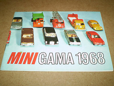 Rare Gama Toy Catalogue 1968 German Edition  Excellent Condition For Age