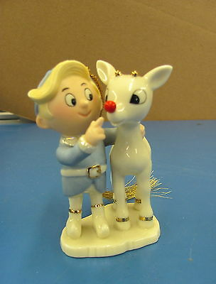 Lenox Rudolph's Glowing Friendship Ornament figurine