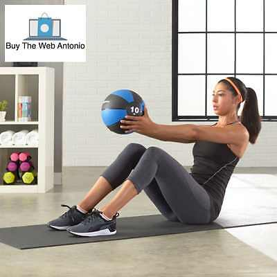 Professional Medicine Ball 10 Pounds Exercise Develop Strength Muscle Balance