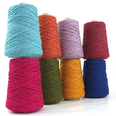 Wool & Nylon Axminster Rug Yarn 250g - Rug-Making, Weaving, Crochet, Needlepoint