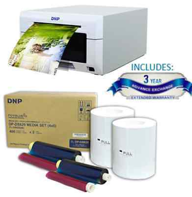 "New DNP DS620A Dye Sub Photo Printer, 3 Yrs Advance Warranty, 4x6"" Media Pack"
