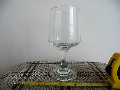 Isle of Man glass with Viking Boat 1979.