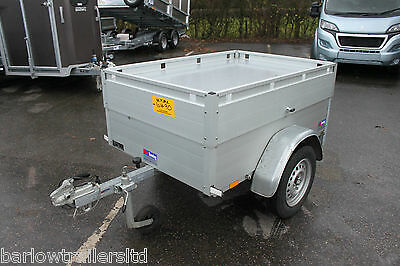 Anssems GT500-151 Single Axle Trailer, Hard Top, Camping Trailer