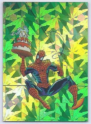 Comic Images 1992 Spider-Man II 30th Anniversary P7 Assistant Needed Prism Card
