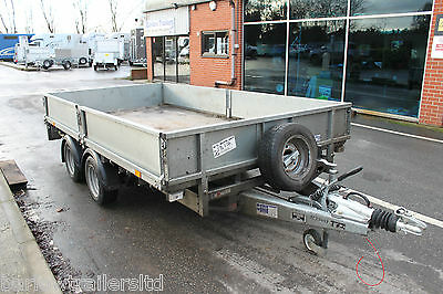 Used Ifor Williams LM126 TWIN Axle Heavy Duty Trailer 12'x6'