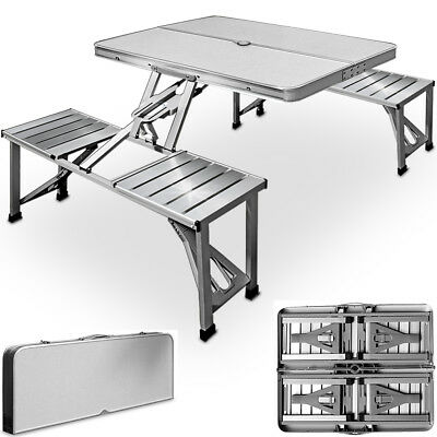 Folding Camping Table and Chairs Set Picnic Dining Furniture Outdoor Portable
