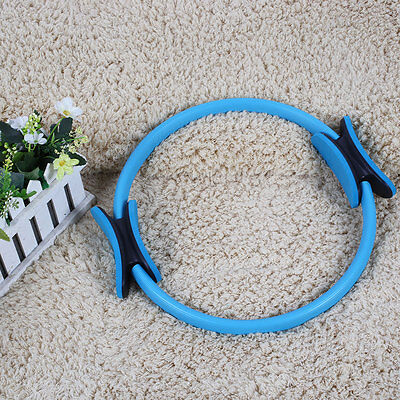 "14"" Magic Pilates Yoga Ring Exercise Fitness Workout Weight Loss Fitness Circles"