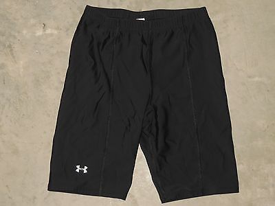 Under Armour Protective Base Layer Compression Shorts Womens MD Medium Black