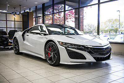 2017 Acura NSX Base Coupe 2-Door All New 2007 Acura NSX finished in Casino White Pearl  Metallic - Only 57 Miles!