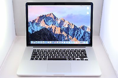 "Apple MacBook Pro Retina 15.4"" 2.2GHz Quad Core i7 512GB SSD 16GB RAM 2015 #1010"