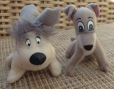 Mooch And Tramp From Lady And The Tramp 2 Mcdonalds Happy Meal Toys 2001