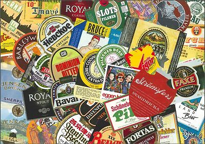 WORLDWIDE - Lot of 100 different beer labels - VeRY NiCE !!! 011