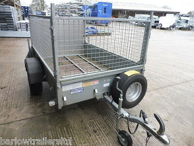 Used Ifor Williams P6e - Mesh Sides, Single Axle