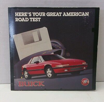 Buick Great American Road Test 1988 Reatta Computer Software Test Drive