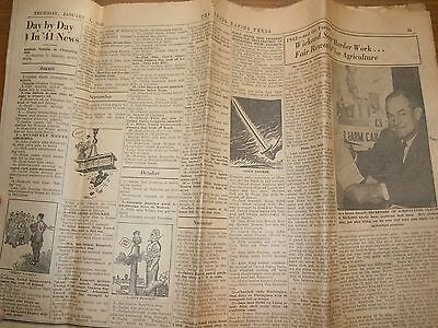 The Grand Rapids Press Thursday January 1, 1942 Day by Day News