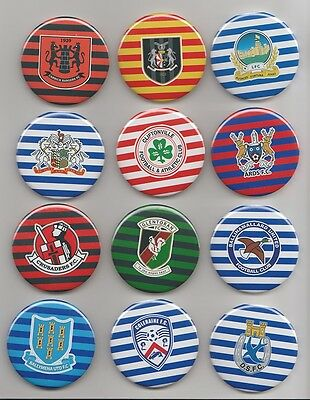 CLIFTONVILLE FC  55mm  ROUND FRIDGE MAGNET  NORTHERN IRELAND