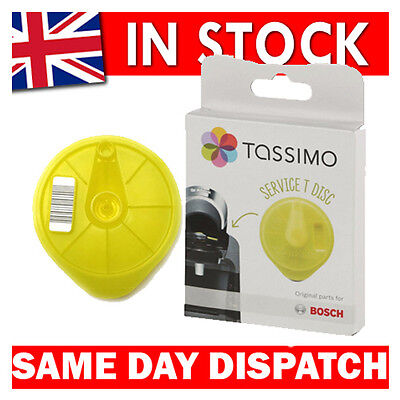 Genuine Tassimo Bosch Braun Replacement Cleaning Descaling Service T Disc 621101