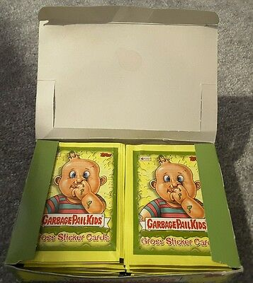 # Topps Garbage Pail Kids Cross Sticker Cards Box Of 36 x 5 Cards Brand New #