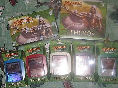 Theros Booster Box, 5 iNTROS, Fat Pack Lot MtG Magic the Gathering