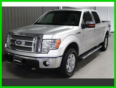2011 Ford F-150 Lariat 2011 Ford F-150 Lariat Four Wheel Drive 5L V8 32V Automatic 89466 Miles