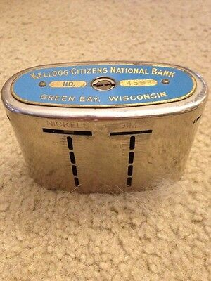 Kellogg Citizens National Bank Green Bay Wisconsin WI , Wis Wisc. Recording Bank