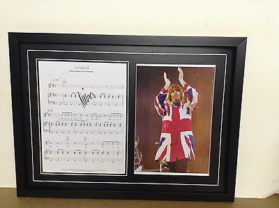 Liam Gallagher Hand Signed/Autographed Songsheet with Photo & COA