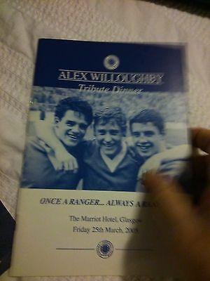 Rangers - ALEX WILLOUGHBY TRIBUTE DINNER 25/3/2005